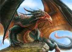 Dragon by Sumerky.deviantart.com on @deviantART