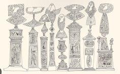 Saul Steinberg Monumentos