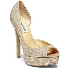 Steve Madden Women's Canaryy Pumps Shoes Champagne