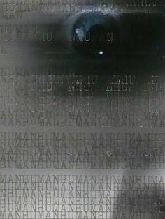 WORDSCREATUREWORDS 3 (detail) - 2014 (typewriter ink on creature picture portrait) - twitter.com/ragnoxxx #contemporaryart #artecontemporanea #conceptualart #visualart #arte #artecontemporaneo #artcontemporain #zeitgenössischekunst #photografy #kunst #artcollectors #art #contemporaryphotografy #artgallery #cosegiaviste #installation #artexhibition