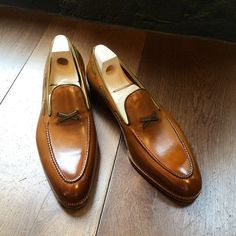 Saint Crispin's X Loafer custom order. (at Leffot)