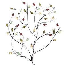 Found it at Wayfair - Tree Branch Wall Decor with Stone Accents