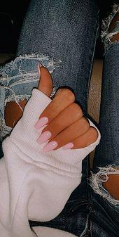 Baby rosa Pastell Sarg Acrylnägel nageldesigns G Acrylic Nails Pastel, Acrylic Nails Coffin Short, Summer Acrylic Nails, Acrylic Nail Designs, Coffin Nails, Nail Art Designs, Pink Acrylics, Stiletto Nails, Green Nails