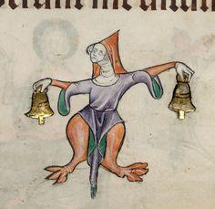 The Bell Ringer (Luttrell Psalter)