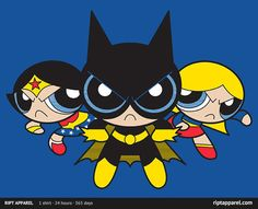 Supertough Girls - Wonder Woman, Batgirl, Supergirl