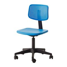 ALRIK Swivel chair IKEA Height adjustable for a comfortable sitting posture. Easy to keep clean; wipe with a damp cloth.