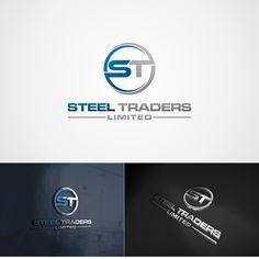 Corporate Logo for A Steel Trading Company by Hanifah Nur Aini