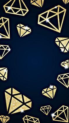 Diamond Wallpaper, Cool Wallpaper, Iphone Wallpaper, Aesthetic Backgrounds, Aesthetic Wallpapers, Fractal Art, Fractals, Diamond Gemstone, Old Things