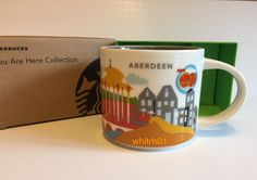 Starbucks Aberdeen Mug YAH Scotland Buttery Rig UK New Coffee Cup You Are Here #Starbucks