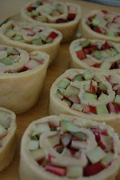 Rhubarb Rolls | Beantown Baker
