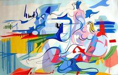 Nadir Afonso Nadir Afonso, Portugal, Gustav Klimt, Cubism, Portuguese, Contemporary Art, Disney Characters, Fictional Characters, Sculpture