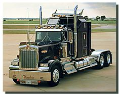 Black Kenworth Big Rig Truck poster   Truck Posters  Thanks. Short shout to the coolest move company. You should auto with us. Premium Exotic Auto Enclosed Transport. We are coast to coast and local. Give us a call. 1-877-eHauler or click LGMSports.com
