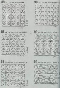 """A""-made by Ljubinka: Šeme za heklanje Crochet Diagram, Crochet Chart, Crochet Stitches, Crochet Quilt, Crochet Doilies, Hexagon Crochet, Stitch Patterns, Crochet Patterns, Crochet World"
