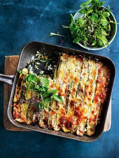 This lasagne is made