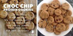 Choc chip protein cookies!