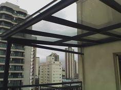 Cobertura-policarbonato-preço Carport Patio, Blinds, Deck, Curtains, Exterior, Outdoor Decor, Family Rooms, Home Decor, Houses