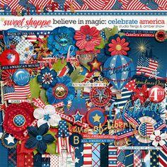 Beleive in Magic: Celebrate America by Amber Shaw & Studio Flergs