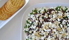 Greek ingredients are an exciting twist for a layered spread.