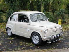1963 Fiat Abarth 600D Maintenance of old vehicles: the material for new cogs/casters/gears/pads could be cast polyamide which I (Cast polyamide) can produce