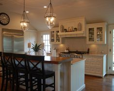Kitchen Lighting Ideas White Kitchen ~ Awesome Lights. I Think Pottery Barn  Has These.