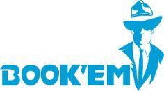 Book'Em Book Club Logo