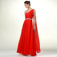 Buy 'YesStyle Dress – Draped One-ShoulderJeweled Evening Gown' at YesStyle.com plus more Hong Kong items and get Free International Shipping on qualifying orders.