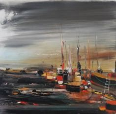 Rosanne BARR artist, paintings and art at the Red Rag Scottish Art Gallery