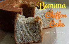 LY's Kitchen Ventures: Banana Chiffon Cake