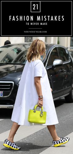 Are you committing these fashion faux pas? Here's how to avoid them.
