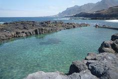 Las mejores piscinas naturales de Tenerife. Piscina natural de Jover.
