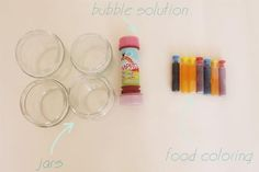 DIY: paint with bubbles