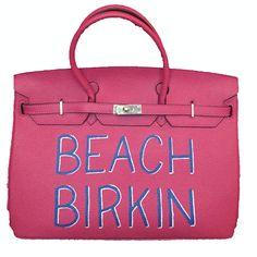 BEACH BIRKIN | Beach Bag | Pinterest | Bag