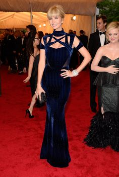 Ivanka Trump in Peter Pilotto - Met Gala 2012