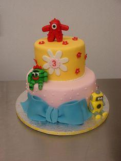 yo gabba gabba cakes