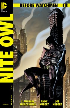 Cover for Before Watchmen: Nite Owl #1 (2012)