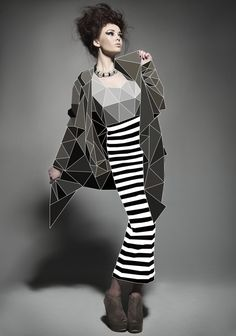 Fashion with Cubic Forms by elif yaman