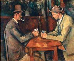 "HELDER BARROS: Arte Pintura - ""Os jogadores de Cartas"" de Paul Cé...                                                                                                                                                      Mais"