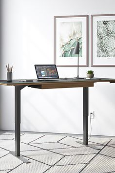 Practice healthier workplace habits with our selection of standing desks from leading contemporary furniture brands, like BDI and Copeland Furniture. Choose from elegant, versatile designs that easily adjust to a variety of optimal heights. Modern Home Offices, Modern Office Design, Modern Desk, Standing Desks, Home Office Space, Contemporary Furniture, Workplace, Elegant, Inspiration