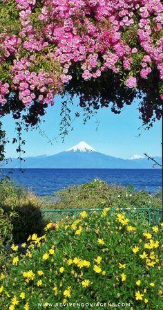 Frutillar é uma cidadezinha fofa, vizinha a Puerto Varas, na região dos lagos chilena, que tem vistas maravilhosas do Vulcão Osorno, à beira do Lago Ilanquihue. Chile. América do Sul.