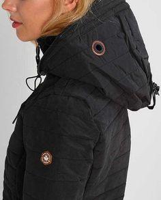 Khujo Damen Jacke Parka Übergangsjacke Kapuze schwarz Neu Gr.XXL in Kleidung & Accessoires, Damenmode, Jacken & Mäntel | eBay!
