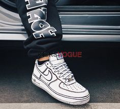 best sneakers 40efb fe715 Sketch Nike Air Force 1 low white hand painted Custom from baby size 23 up  to men size 45