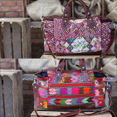 Ixchel Triangle diaper bags.