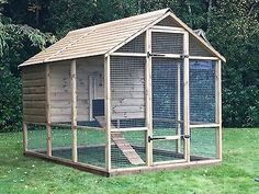 Giant Buckingham Chicken Coop Run 9ft x 6ft - Walk In - Up To 18 Hens