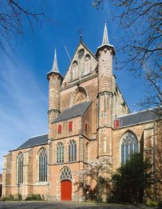 Pieterskerk, Leiden Holland church where the the Pilgrim Fathers worshipped before they left for the New World.