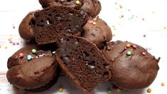 Healthy Snacks, Healthy Recipes, Muffin, Macarons, Paleo, Food And Drink, Cookies, Chocolate, Cupcake