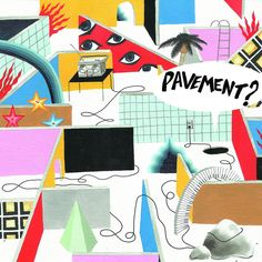 PAVEMENT_MAZE_COVER2 by Illustration graduate Adrian Forrow, via Flickr