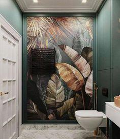 Home Room Design, Bathroom Interior Design, Interior Decorating, Master Bedroom Design, Modern Bathroom Design, Decorating Tips, 3d Wall Art, Wall Murals, Wc Decoration
