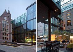 Piero Lissoni: Conservatorium hotel, Amsterdam, The Netherlands