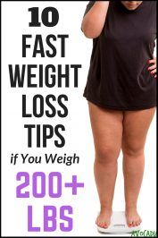 10 Fast Weight Loss Tips if You Weigh 200 Pounds or More | Avocadu.com