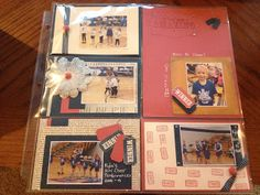 See this blog for great ideas on scrapbook pages and cards!  www.angluvstampin.blogspot.com